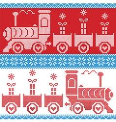 Gravy train gifts stars snowflakes hearts vector