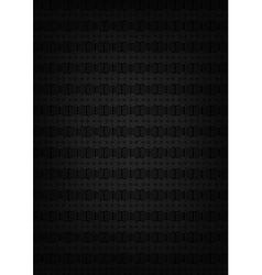 Abstract metallic black texture vector