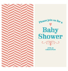 Bashower card ornaments background vector