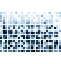 Blue mosaic vector