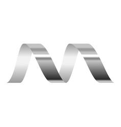 Bright serpentine icon realistic style vector