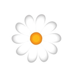 flower floral plant nature garden icon vector image