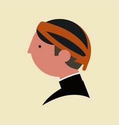 javanese people cartoon vector image