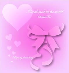 Love begin by descending eps10 vector