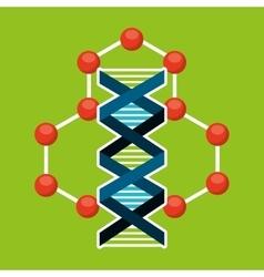 molecule particle laboratory scientific vector image