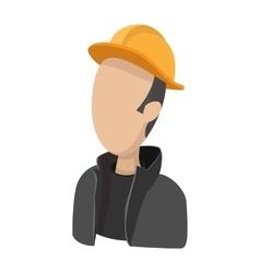 Oilman cartoon icon vector image