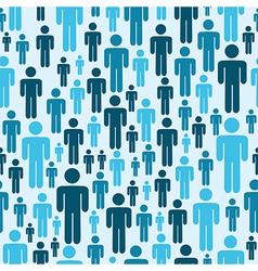 Social media people pattern vector