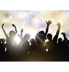 Party people background vector image vector image
