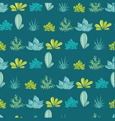 dark blue green stripes seamless repeat vector image vector image