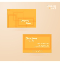 Business template or visiting card vector
