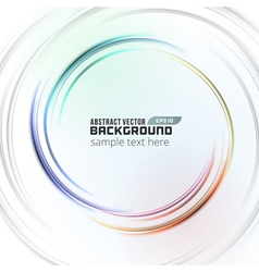 Abstract soft light circle lines background vector