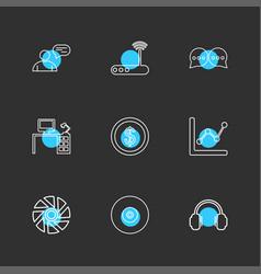 Avtar wifi router message computer table vector