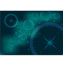 Background compass vector