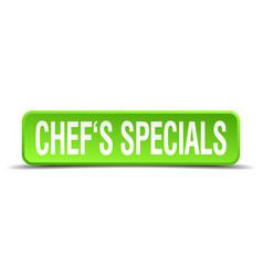 Chefs specials vector