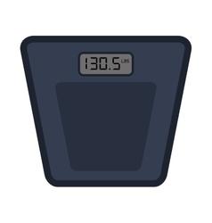 Digital scale icon vector