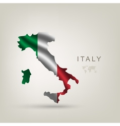 flag italy as a country vector image