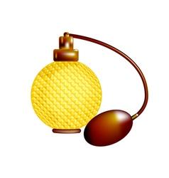 Perfume bottle vector