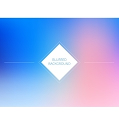 Pink and blue color blurred background Sky vector