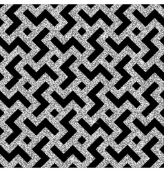 silver oriental swastika pattern vector image