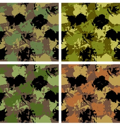 Spotted camouflage vector