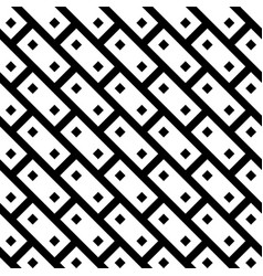 abstract seamless pattern background black brick vector image