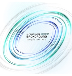 Abstract soft light circle lines background vector image