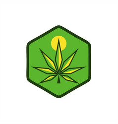 cannabis ganja logo vector images over 2 900 vectorstock