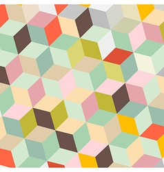 Colorful Abstract Retro Background vector