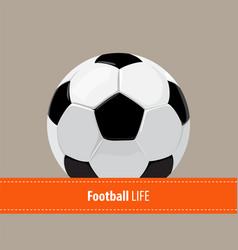 Football ball background vector