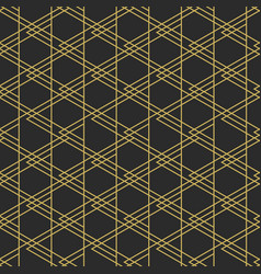 Geometric elegant seamless pattern vector