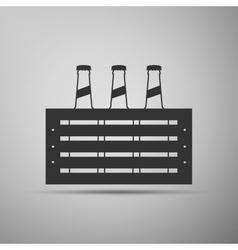 Pack of Beer icon vector image