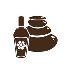 Perfume bottle icon image vector