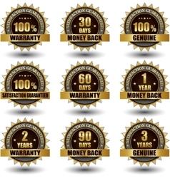 Set of golden labels satisfaction vector