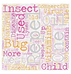 The Bug Stops Here text background wordcloud vector