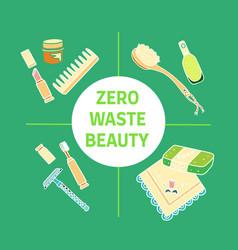 Zero waste similar 2 vector