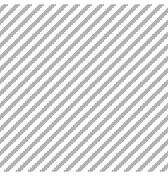 Grey diagonal stripes seamless pattern vector image