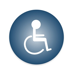 Signs Disabled Toilet vector image vector image
