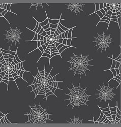 spider web background for halloween vector image vector image