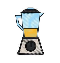 Blender kitchenware icon image vector