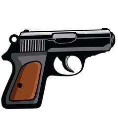 Personal Pistol Gun vector