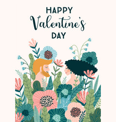 Romantic with people design vector