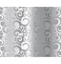 Silver pattern vector