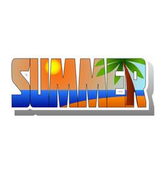 Summer 2 vector