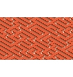 The maze labyrinth - endless vector