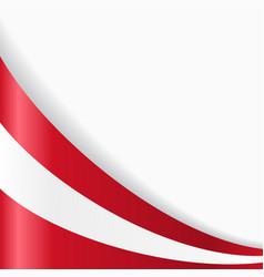 austrian flag background vector image vector image