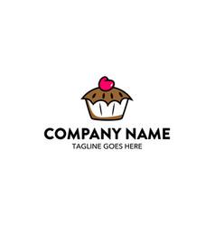 bakery logo-4 vector image vector image