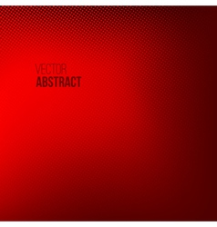 Red Abstract Halftone Background vector image vector image