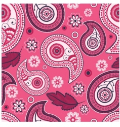 paisley seamless vector image vector image