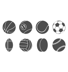 sport items icons vector image