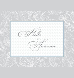 hand drawing frame 2 vector image